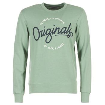 Abbigliamento Uomo Felpe Jack & Jones SWEEP ORIGINALS Verde