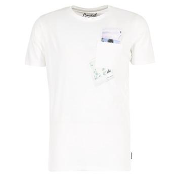 Abbigliamento Uomo T-shirt maniche corte Jack & Jones CHECK ORIGINALS Bianco