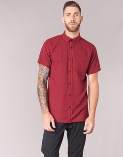 Abbigliamento Uomo Camicie maniche corte Jack & Jones JOHAN ORIGINALS Rosso