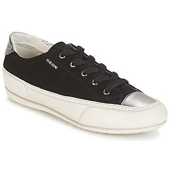 Scarpe Donna Sneakers basse Geox D N.MOENA D - SCAM.STA+VIT.CER Nero