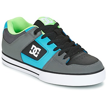 Scarpe Uomo Scarpe da Skate DC Shoes PURE Grigio / Verde / Blu