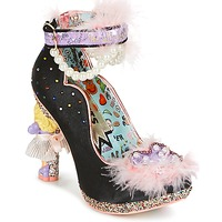 Scarpe Donna Décolleté Irregular Choice ALL ABOUT MOI Black