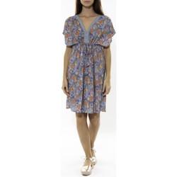 Abbigliamento Donna Abiti corti Jad Robe Grenadine Bleu Blu