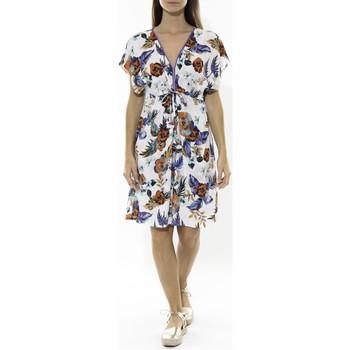 Abbigliamento Donna Abiti corti Jad Robe Grenadine Blanche Bianco