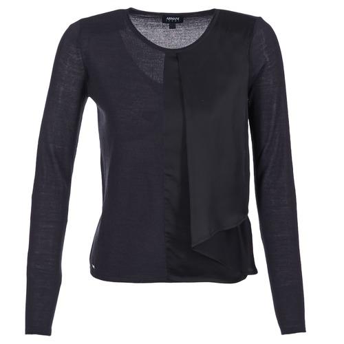 Abbigliamento Donna Maglioni Armani jeans JAUDO Marine