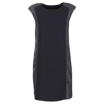 Abbigliamento Donna Abiti corti Armani jeans LAMIC Nero / Grigio