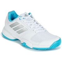 Scarpe Running / Trail adidas Performance Barricade Club xJ Bianco / Blu