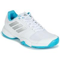 Scarpe Running / Trail adidas Performance Barricade Club xJ Bianco / Blu