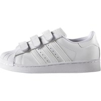 Scarpe Bambino Sneakers basse adidas Originals Scarpe Superstar Foundation Bianca