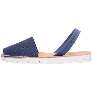 Scarpe Uomo Sandali Ria 27092 Blu