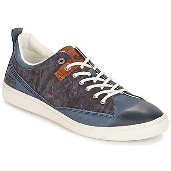 Scarpe Uomo Sneakers basse Kickers SANTA FE Blu
