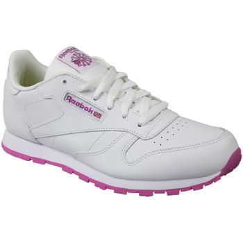 Scarpe Unisex bambino Sneakers basse Reebok Sport Classic Leather Blanc