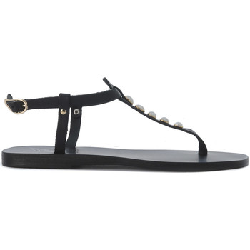 Scarpe Donna Sandali Ancient Greek Sandals Sandalo  Lito in pelle Nero