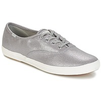 Scarpe Donna Sneakers basse Keds CH METALLIC CANVAS SILVER