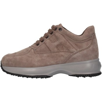 Scarpe Bambino Sneakers alte Hogan Junior HXC00N0001ECR0C407 Sneakers Bambino Beige Beige