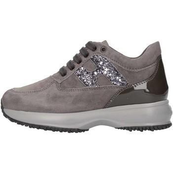 Scarpe Bambina Sneakers basse Hogan Junior HXC00N002409MU372B Sneakers Bambina Piombo Piombo