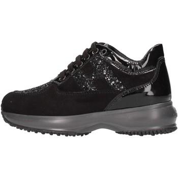 Scarpe Bambina Sneakers basse Hogan Junior HXC00N002409MUB999 Sneakers Bambina Nero Nero