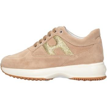 Scarpe Bambina Sneakers basse Hogan Junior HXC00N00241FTY0K97 Sneakers Bambina Beige Beige