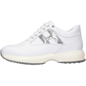 Scarpe Bambina Sneakers basse Hogan HXC00N00241GHL0351 Sneakers Bambina Bianco Bianco