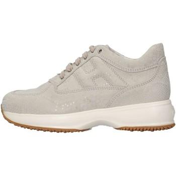 Scarpe Unisex bambino Sneakers basse Hogan HXC00N00E11BTBB002 Sneakers Bambino Ghiaccio Ghiaccio