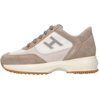 Scarpe Unisex bambino Sneakers basse Hogan HXC00N032428GM612F Sneakers Bambino Beige Beige