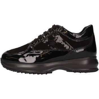 Scarpe Bambina Sneakers basse Hogan Junior HXC00N041805509999 Sneakers Bambina Nero Nero