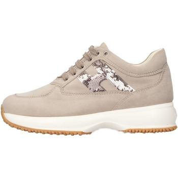Scarpe Bambino Sneakers basse Hogan Junior HXC00N04181CR09999 Sneakers Bambino Marrone Marrone
