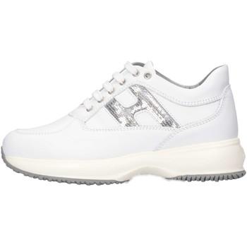Scarpe Unisex bambino Sneakers basse Hogan HXC00N0O2418GQ351 Sneakers Bambino Bianco Bianco