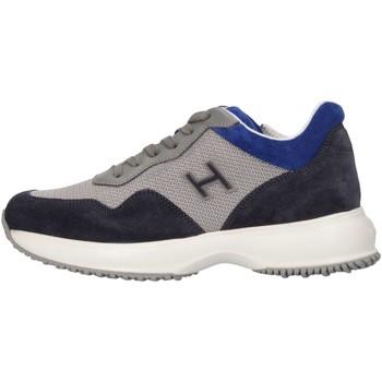 Scarpe Bambino Sneakers basse Hogan Junior HXC00N0V311FTZ635J Sneakers Bambino Grigio/blue Grigio/blue
