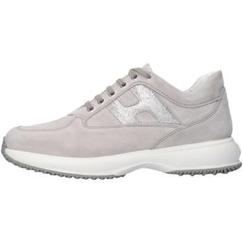 Scarpe Bambina Sneakers basse Hogan Junior HXR00N00241FTY3707 Sneakers Bambina Grigio Grigio