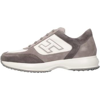Scarpe Bambino Sneakers basse Hogan Junior HXR00N032428VV8527 Sneakers Bambino Grigio/bianco Grigio/bianco