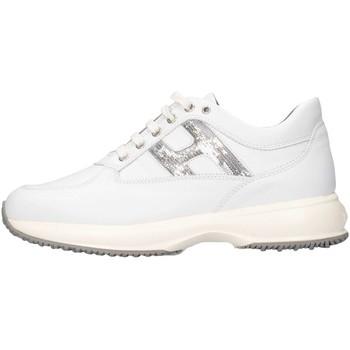Scarpe Bambina Sneakers basse Hogan Junior HXR00N0O2418GQ0351 Sneakers Bambina Bianco Bianco