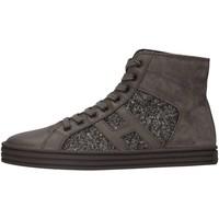 Scarpe Bambina Sneakers alte Hogan Junior HXR1410P991E1AB401 Sneakers Bambina Piombo Piombo