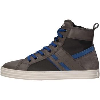 Scarpe Bambino Sneakers alte Hogan Junior HXR1410U771E7G0XS0 Sneakers Bambino Grigio Grigio