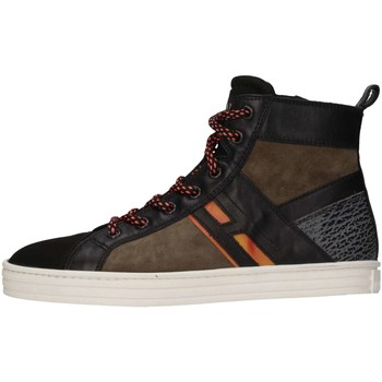 Scarpe Bambino Sneakers alte Hogan Junior HXR1410U771E7H0XS1 Sneakers Bambino Verde Verde