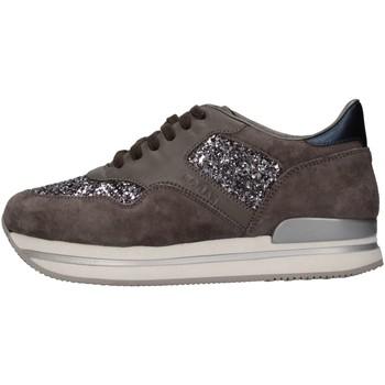 Scarpe Bambina Sneakers basse Hogan Junior HXR2220N624E9C0CGI Sneakers Bambina Grigio Grigio