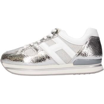 Scarpe Bambina Sneakers basse Hogan Junior HXR2220T541G8S0906 Sneakers Bambina Argento Argento
