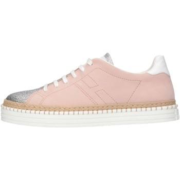 Scarpe Bambina Sneakers basse Hogan Junior HXR2600U560G9D0A44 Sneakers Bambina Rosa Rosa