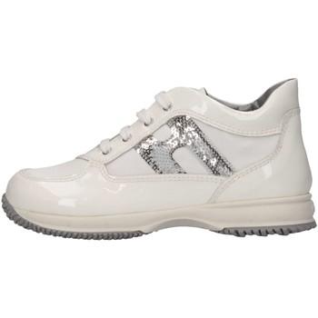Scarpe Bambino Sneakers alte Hogan Junior HXT09204181C1UB001 Sneakers Bambino Bianco Bianco