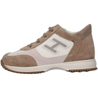 Scarpe Bambino Sneakers alte Hogan Junior HXT0920I4608GM612F Sneakers Bambino Beige/bianco Beige/bianco