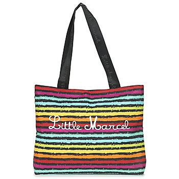 Borse Donna Tote bag / Borsa shopping Little Marcel MIRAGE Nero / Multicolore