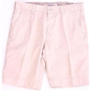 Abbigliamento Uomo Shorts / Bermuda Perfection BERMUDA  BEIGE IN COTONE Beige
