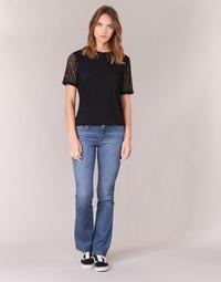 Abbigliamento Donna Jeans bootcut Yurban HEKIKKOU BOOTCUT Blu / Medium