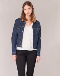 Abbigliamento Donna Giacche in jeans Yurban HELEFI Blu / Medium