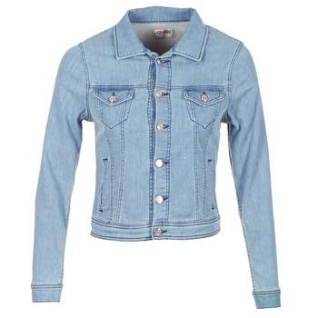 Abbigliamento Donna Giacche in jeans Yurban HELEFI Blu / CLAIR