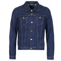 Abbigliamento Uomo Giacche in jeans Yurban HEDEM Blu