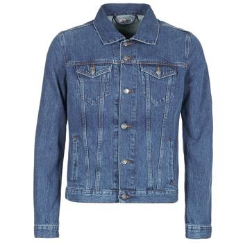 Abbigliamento Uomo Giacche in jeans Yurban IHEDEM Blu / Medium