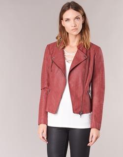 Abbigliamento Donna Giacca in cuoio / simil cuoio Only AVA Rosso