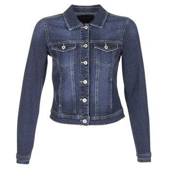 Abbigliamento Donna Giacche in jeans Only WESTA Blu / SCURO