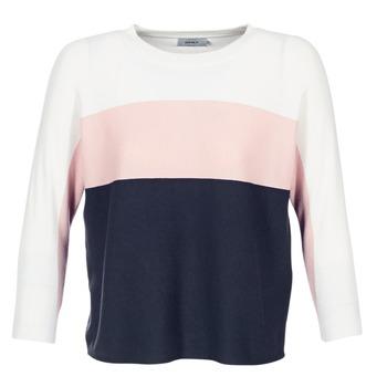 Abbigliamento Donna Maglioni Only REGITZE Bianco / Rosa / MARINE